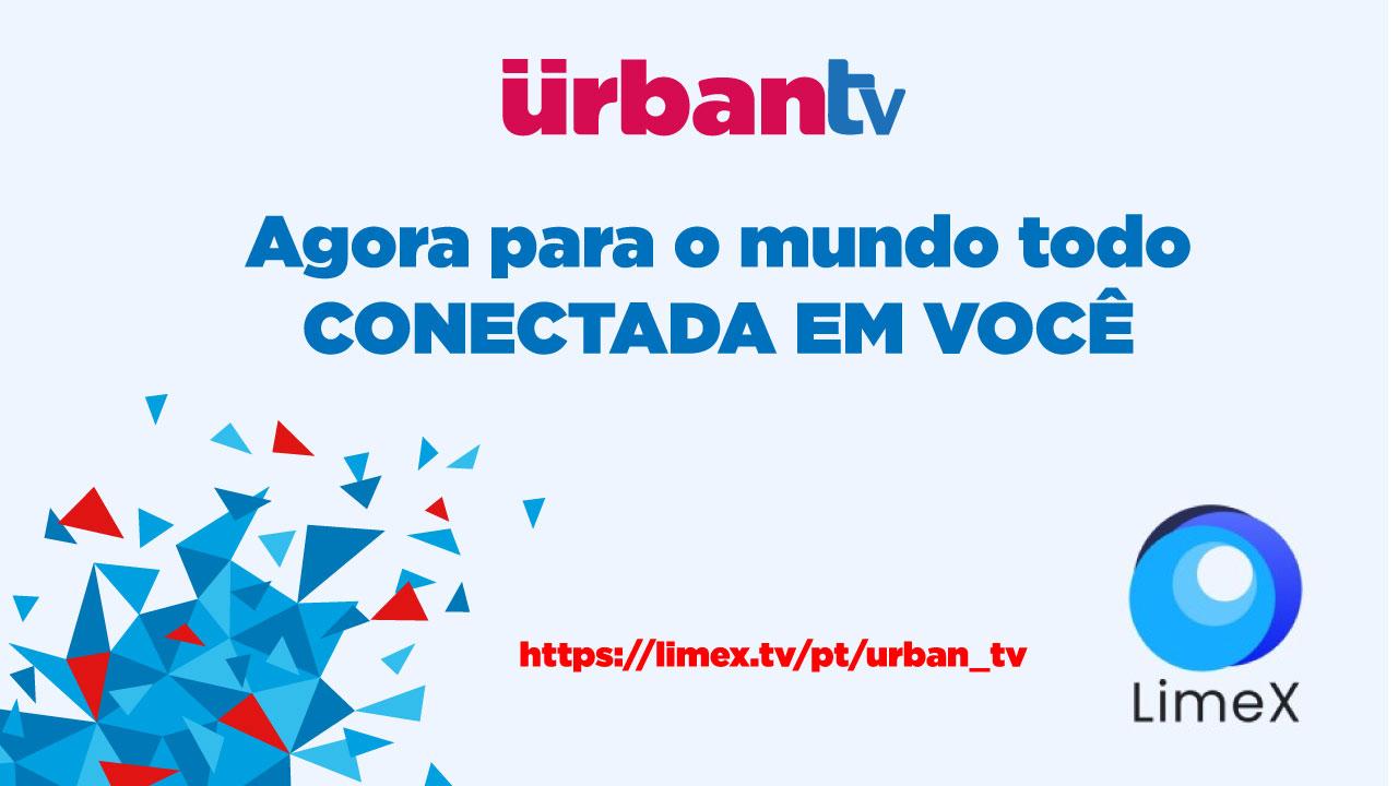 Urban TV entra para o lineup da plataforma Limex World TV OTT