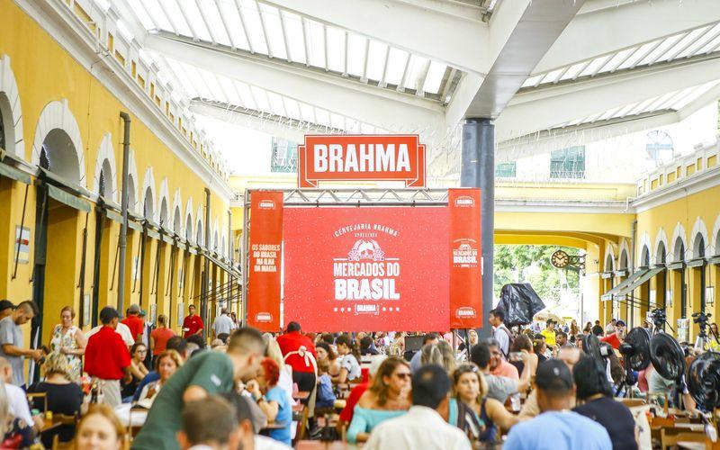A Cervejaria Brahma desembarcou no Mercado Público de Florianópolis levando  experiências e conhecimento cervejeiro ao lado de diversos pratos típicos de  ... 2c5e0ef476e61