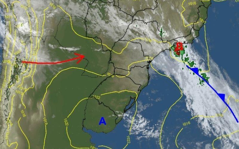 Previsão do tempo para terça-feira, 13 de fevereiro, em Santa Catarina